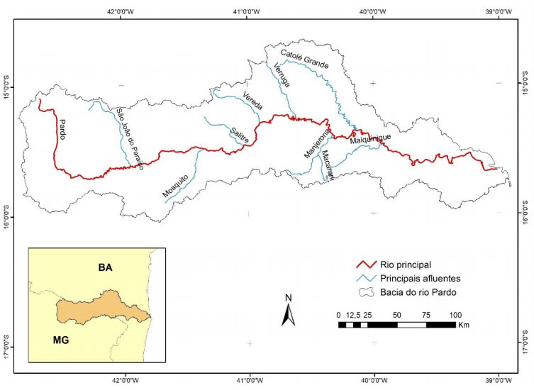 River Brown Map